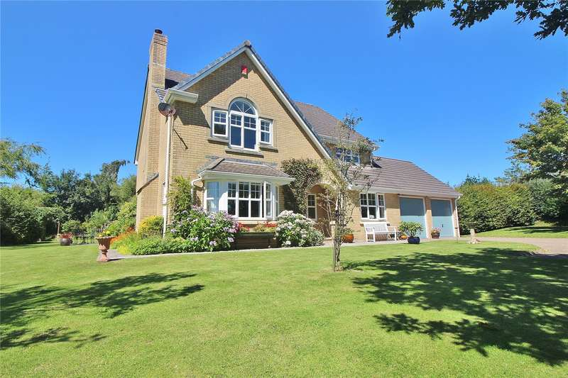 5 Bedrooms Detached House for sale in Church Meadow, High Bickington, Umberleigh, EX37