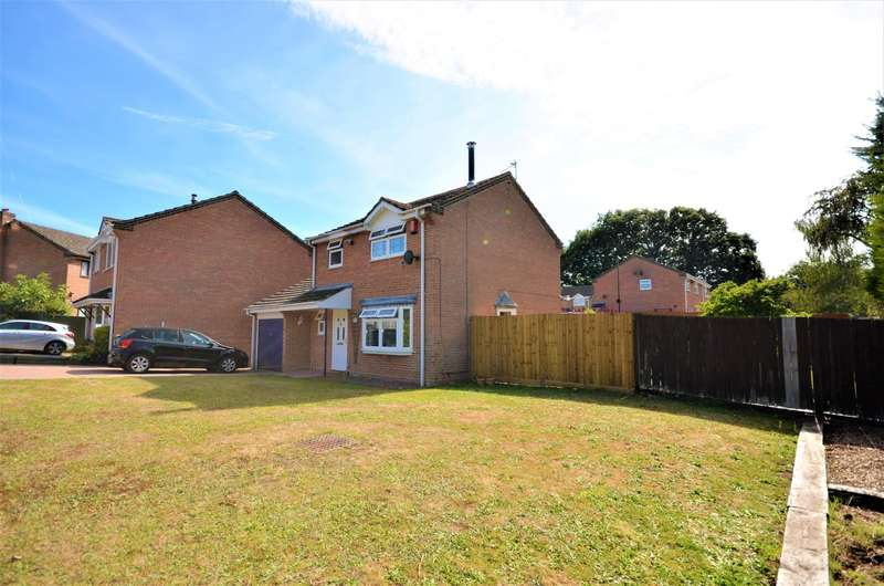 3 Bedrooms Detached House for sale in Adur Close, West End, Southampton, SO18
