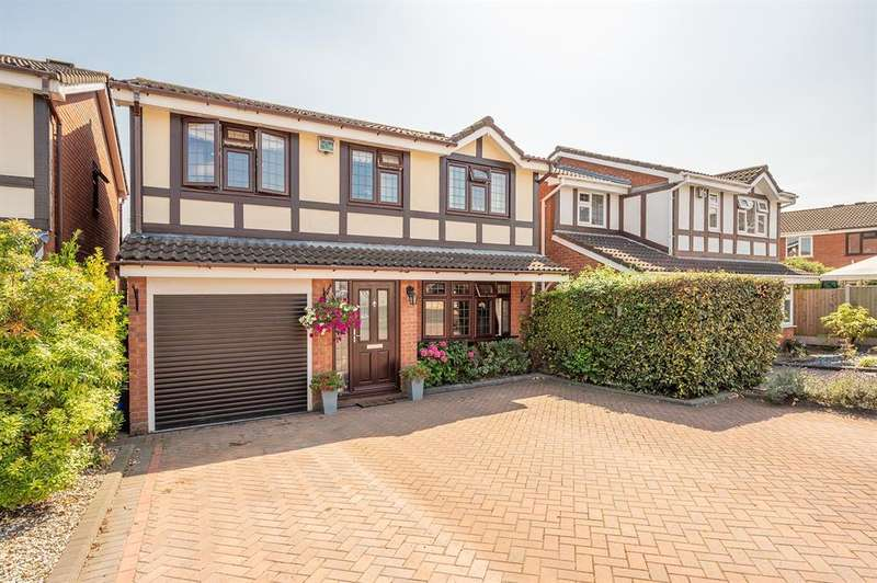 4 Bedrooms Detached House for sale in Gratham Close, Brierley Hill, DY5 2NZ