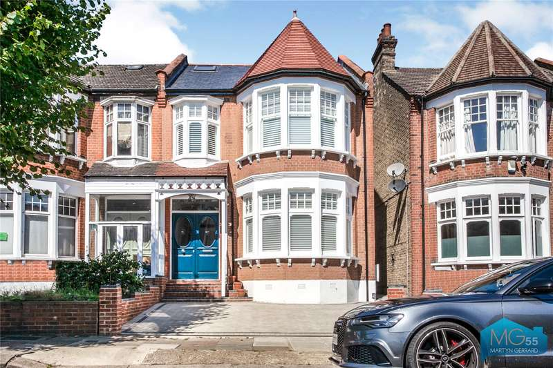 5 Bedrooms Semi Detached House for sale in Amberley Road, Palmers Green, London, N13