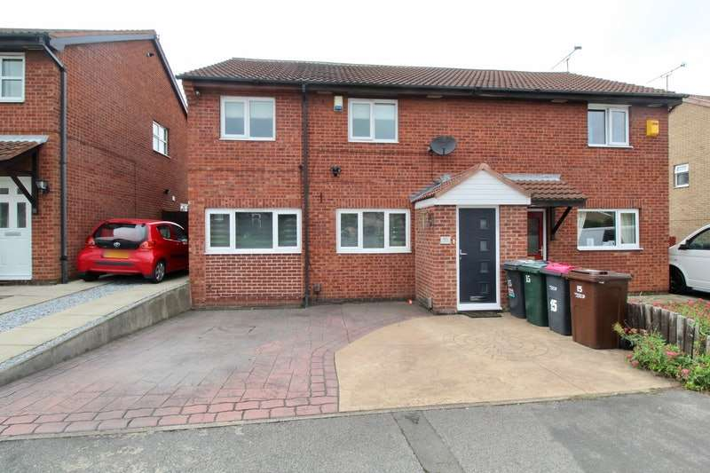 4 Bedrooms Semi Detached House for sale in Sandpiper Road, Rotherham, South Yorkshire, S61