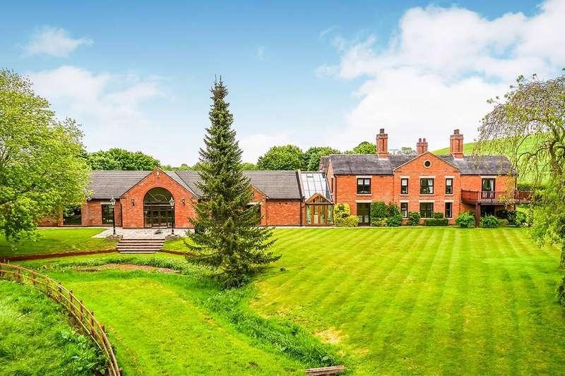 5 Bedrooms Detached House for sale in Winnington Lane, Winnington, Market Drayton, TF9