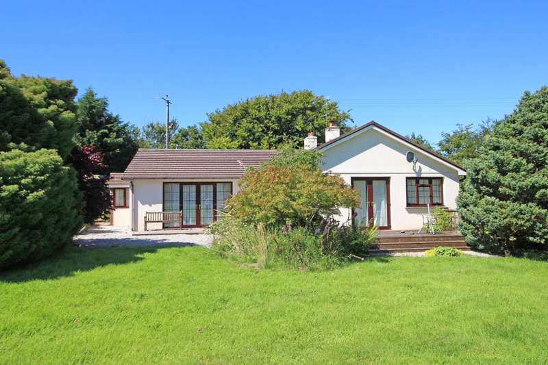 4 Bedrooms Detached Bungalow for sale in South Wonford, Thornbury, Holsworthy, EX22