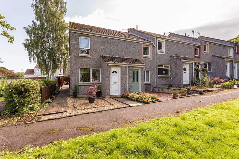 2 Bedrooms End Of Terrace House for sale in Kippielaw Road, Dalkeith, Midlothian, EH22 4HZ