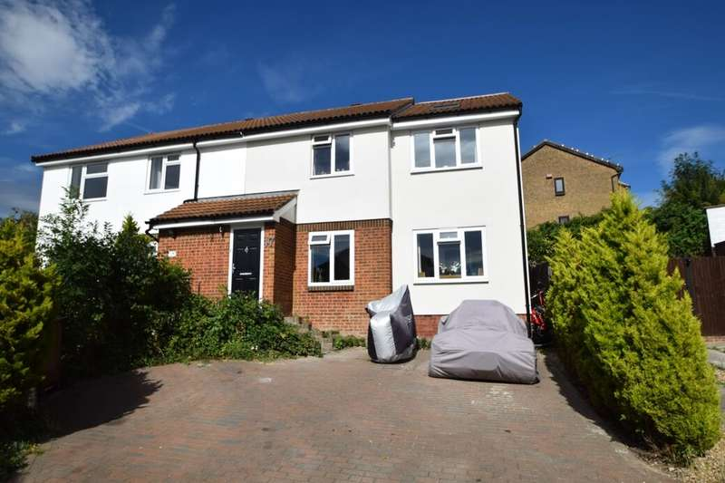 4 Bedrooms Semi Detached House for sale in Winchelsea Road, Walderslade, Chatham, ME5