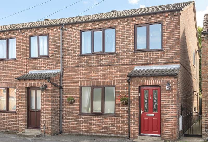 3 Bedrooms End Of Terrace House for sale in Lord Raglan Terrace, Foundry Street, Horncastle, Lincs, LN9 6AB