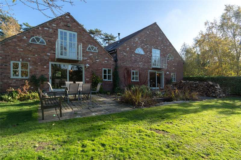 5 Bedrooms Barn Conversion Character Property for sale in Felhampton, Church Stretton, Shropshire, SY6 6RJ