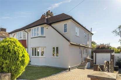 4 Bedrooms Semi Detached House for sale in Bolderwood Way, West Wickham