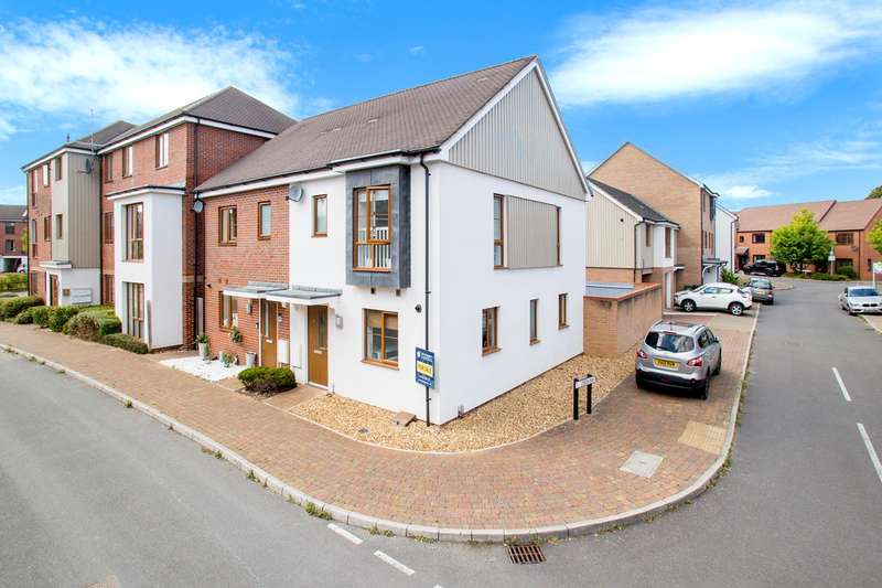 3 Bedrooms Semi Detached House for sale in Peggs Way, Rooksdown, Basingstoke, RG24