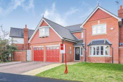 5 Bedrooms Detached House for sale in Kingsbury Drive, Wilmslow, Cheshire, .