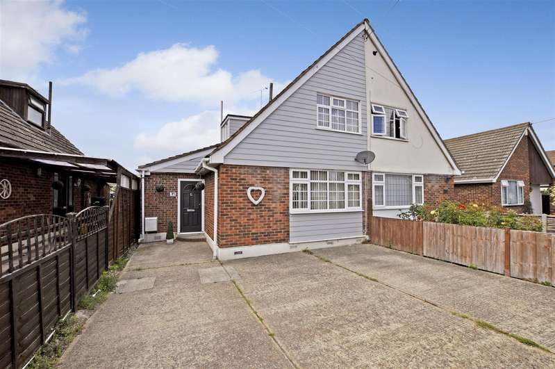 4 Bedrooms Semi Detached House for sale in Waverley Road, Benfleet