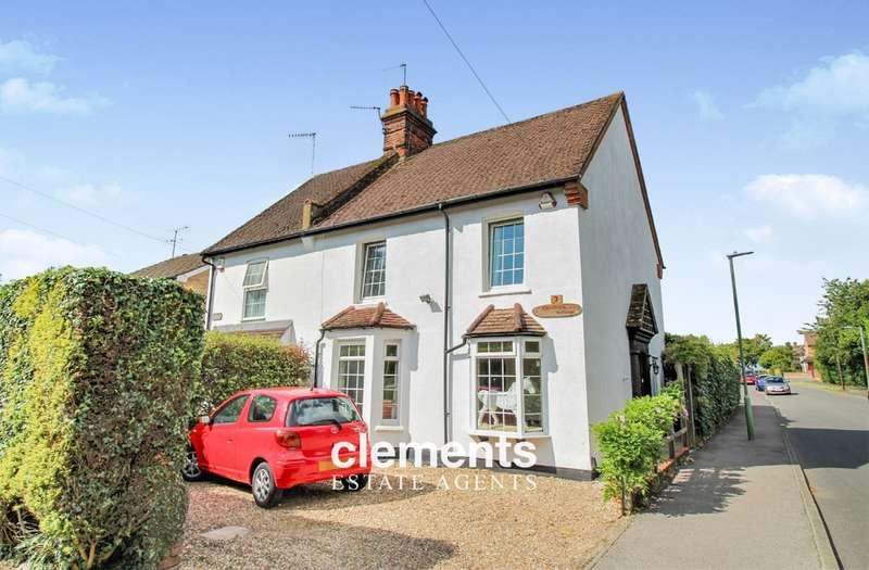 4 Bedrooms Semi Detached House for sale in High Street Green, Hemel Hempstead