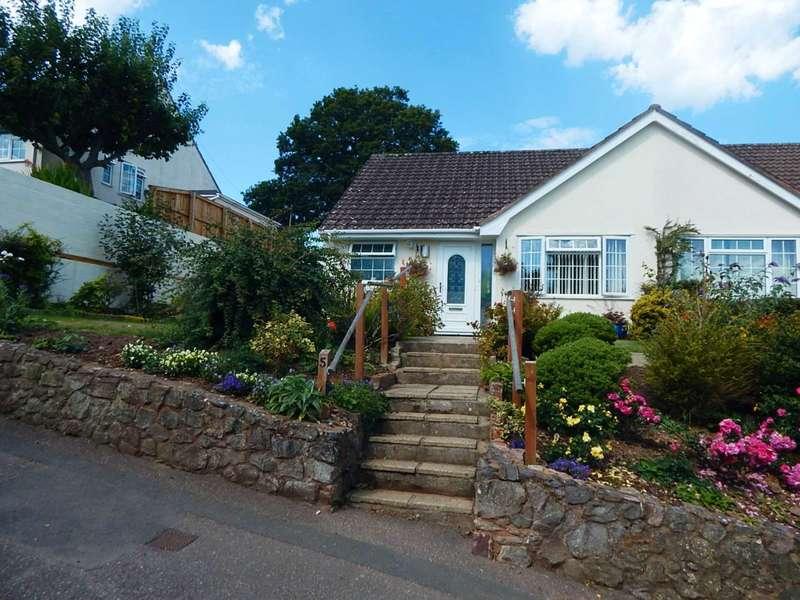 2 Bedrooms Semi Detached Bungalow for sale in Burnards Field Road, Colyton, Devon