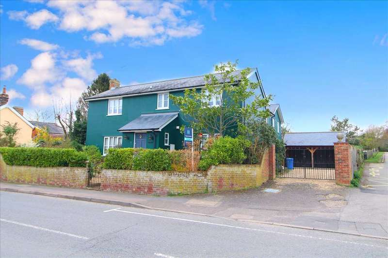5 Bedrooms Detached House for sale in Bear Street, Nayland, Colchester, CO6