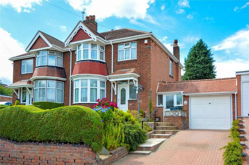 3 Bedrooms Semi Detached House for sale in Woodbourne Road, Bearwood, West Midlands, B67