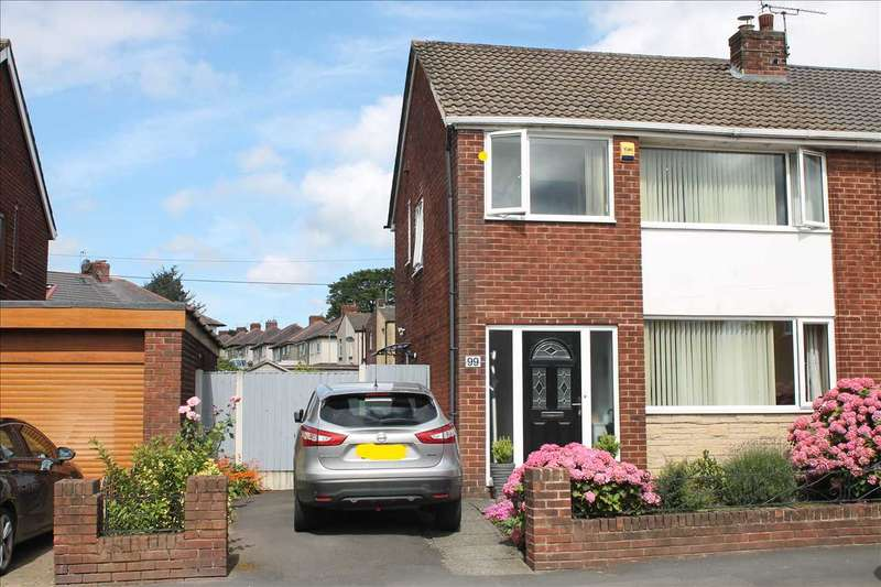 3 Bedrooms Semi Detached House for sale in Mason Street, Horwich