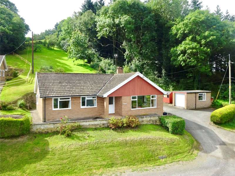 3 Bedrooms Detached Bungalow for sale in Leighton, Welshpool, Powys, SY21 8HP