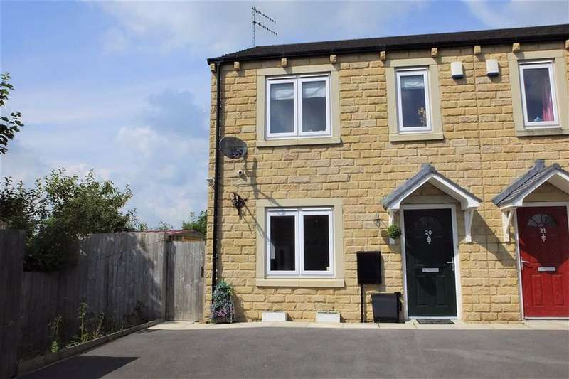 3 Bedrooms Semi Detached House for sale in Brindley Mews, Barnoldswick, Lancashire, BB18