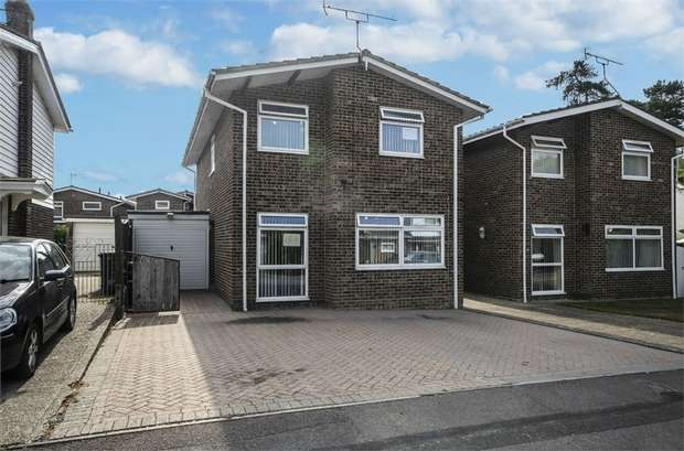 3 Bedrooms Detached House for sale in Roker Way, Fair Oak, Eastleigh, Hampshire