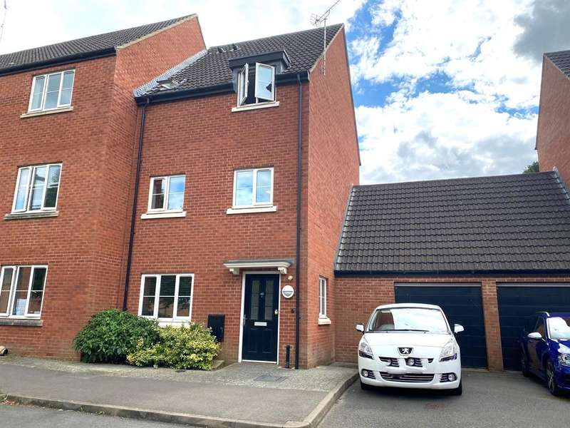 4 Bedrooms Town House for sale in Phelps Mill Close, Dursley, GL11 4GA