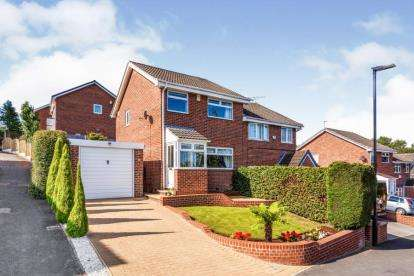 3 Bedrooms Semi Detached House for sale in Blackburn Crescent, Chapeltown, Sheffield, South Yorkshire