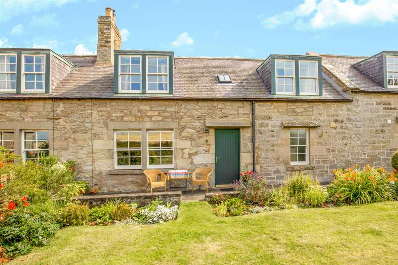 2 Bedrooms Terraced House for sale in Field View Cottage, 4 Bogend Farm Cottage, Duns
