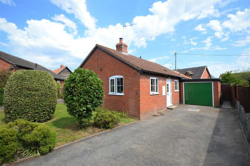 2 Bedrooms Detached Bungalow for sale in The Willows, Luston, Leominster