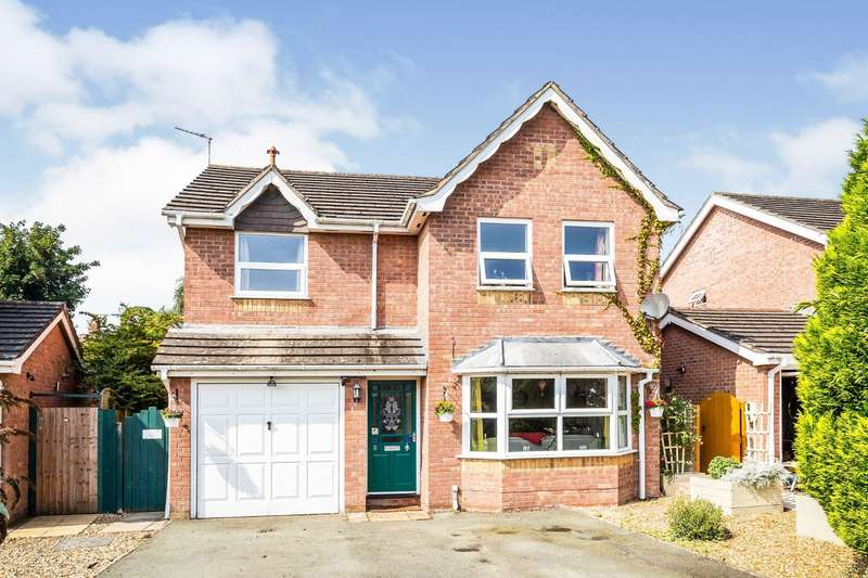 4 Bedrooms Detached House for sale in Malthouse Close, Whittington, Oswestry, Shropshire, SY11