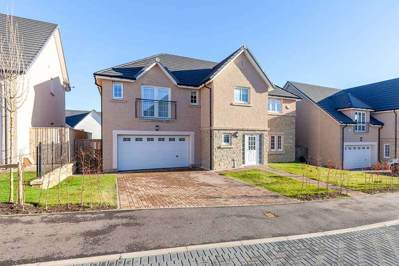 5 Bedrooms Detached House for sale in Ashgrove Gardens, Loanhead, Midlothian, EH20 9GA