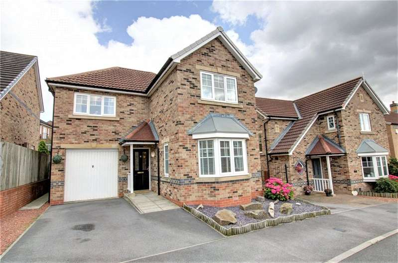 3 Bedrooms Detached House for sale in Redmire Drive, Consett, County Durham, DH8