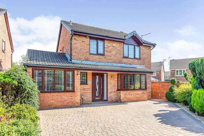 4 Bedrooms Detached House for sale in Lingmoor Drive, Burnley, Lancashire, BB12