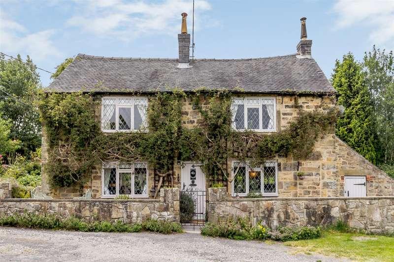 4 Bedrooms Cottage House for sale in Gun Lane, Nether Heage, Belper, Derbyshire