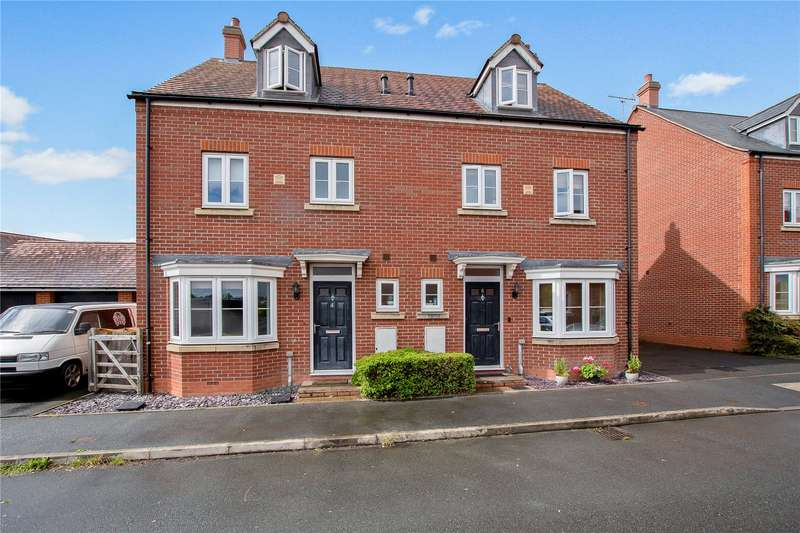 4 Bedrooms Semi Detached House for sale in 4 Jacques Road, Leominster, HR6
