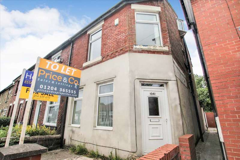 3 Bedrooms End Of Terrace House for sale in Chorley Old Road, Bolton