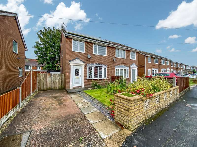 3 Bedrooms Semi Detached House for sale in Larchwood Crescent, Leyland