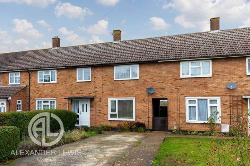 3 Bedrooms Terraced House for sale in Western Way, Letchworth Garden City, SG6 4SR