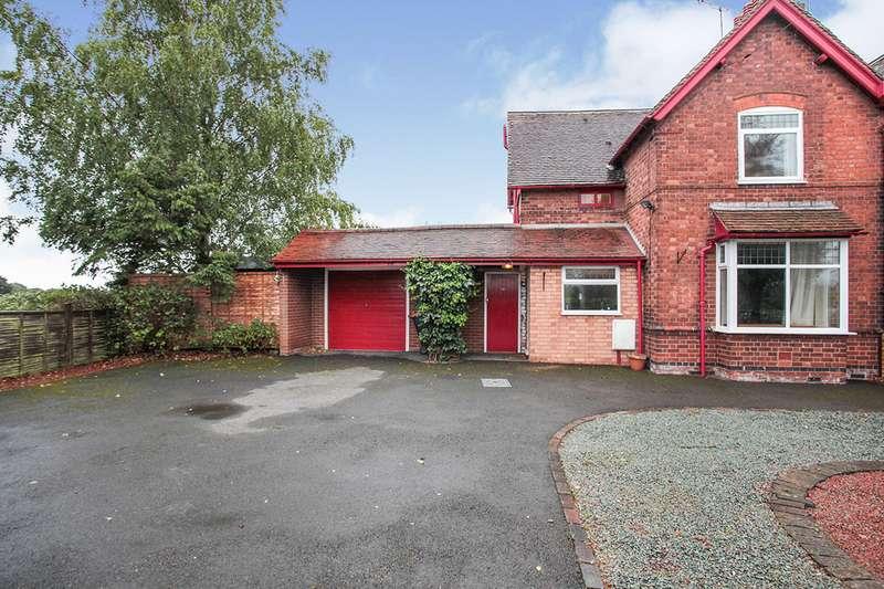 2 Bedrooms Semi Detached House for sale in Weddington Lane, Caldecote, Nuneaton, Warwickshire, CV10