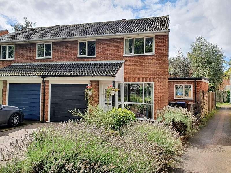 3 Bedrooms Semi Detached House for sale in Lords Wood, Welwyn Garden City, AL7