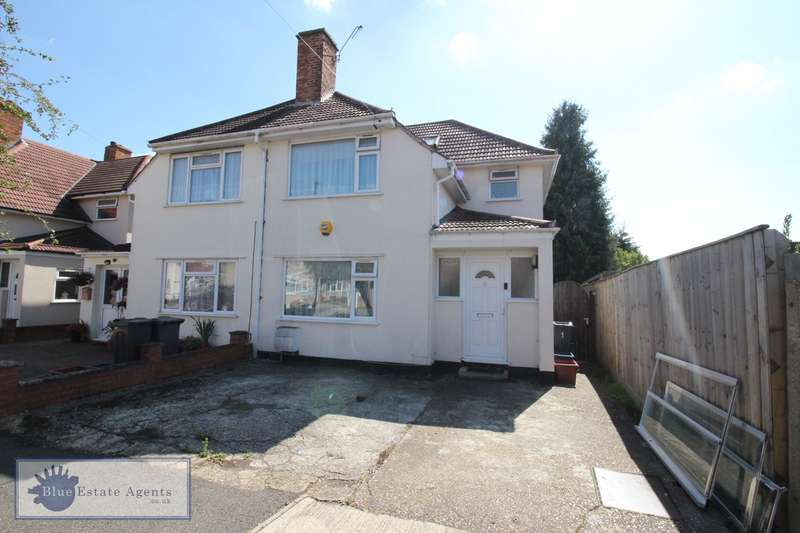 3 Bedrooms Semi Detached House for sale in St Heliers Avenue, Hounslow, TW3