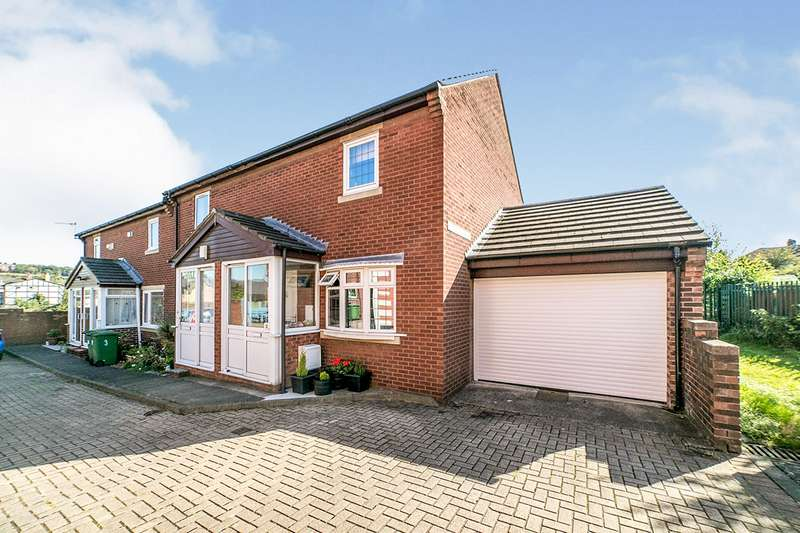 2 Bedrooms Property for sale in Whitegate Close, Dunston, Gateshead, NE11