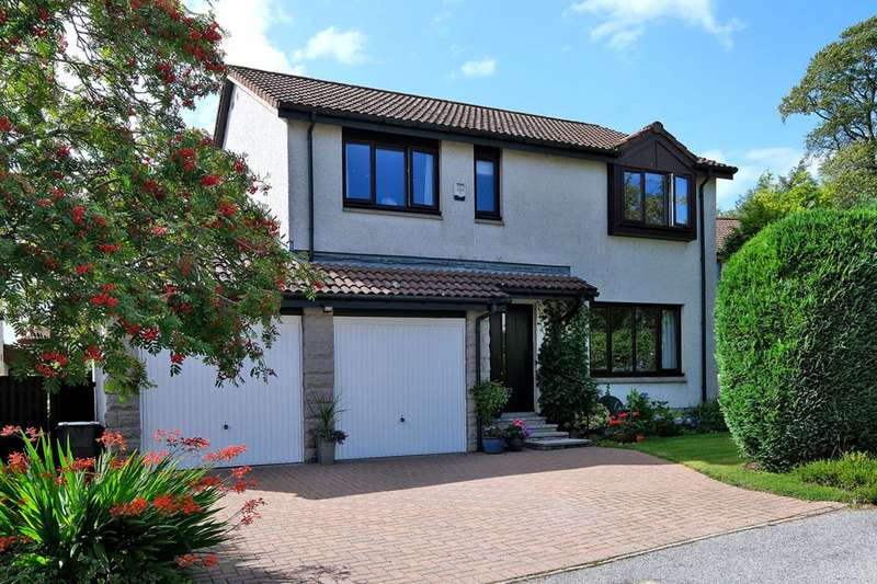 4 Bedrooms Detached House for sale in Oldfold Drive, Milltimber, Aberdeenshire, AB13 0JZ