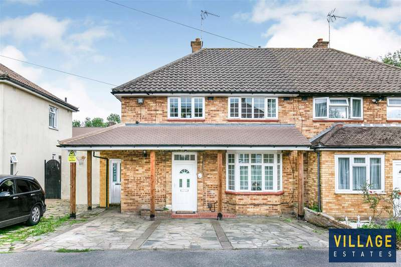 4 Bedrooms Semi Detached House for sale in Easton Gardens, Borehamwood