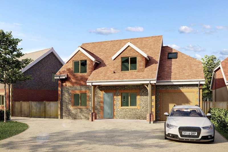 4 Bedrooms Detached House for sale in Swallows Gate, Dappers Lane, Angmering, West Sussex, BN16
