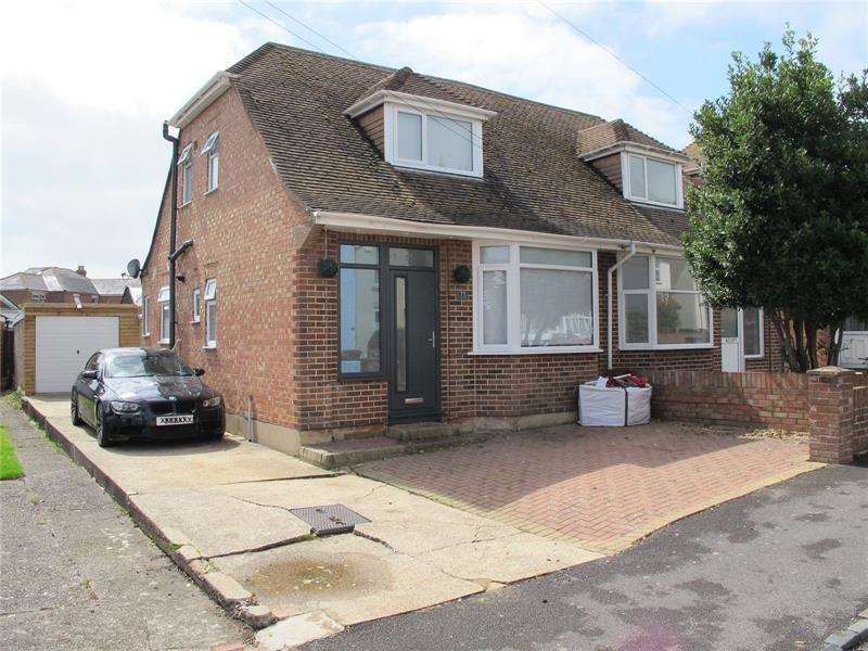 3 Bedrooms Semi Detached House for sale in Gosport Road, Lee-On-The-Solent, Hampshire, PO13
