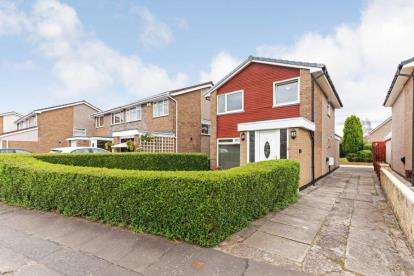 4 Bedrooms Detached House for sale in Haig Drive, Garrowhill, Glasgow, Lanarkshire