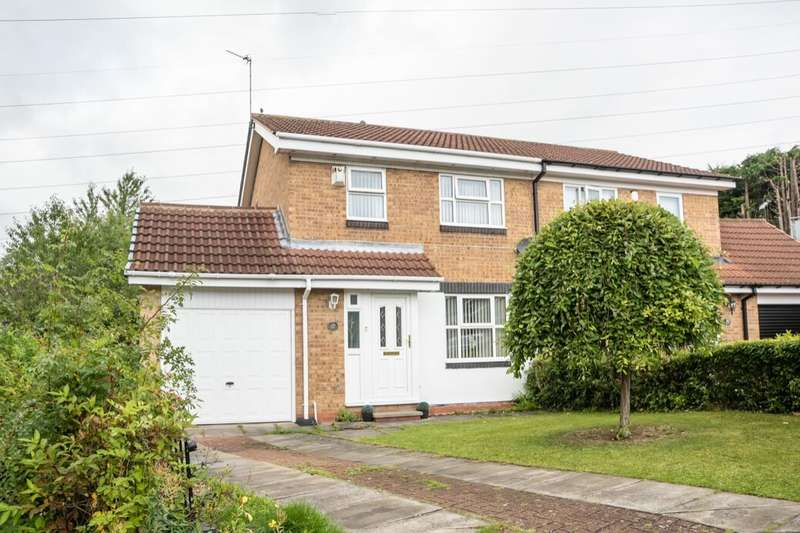 3 Bedrooms Semi Detached House for sale in Crofton Way, West Denton Park, Newcastle Upon Tyne, NE15