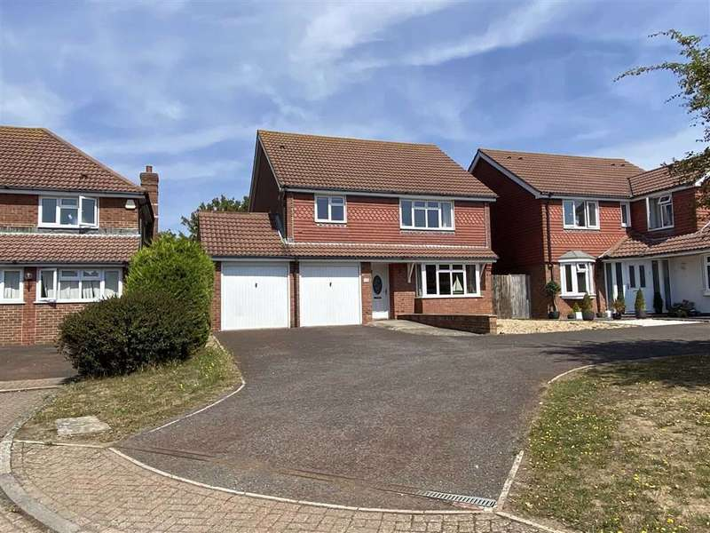 4 Bedrooms Detached House for sale in Wellington Park, Seaford, East Sussex