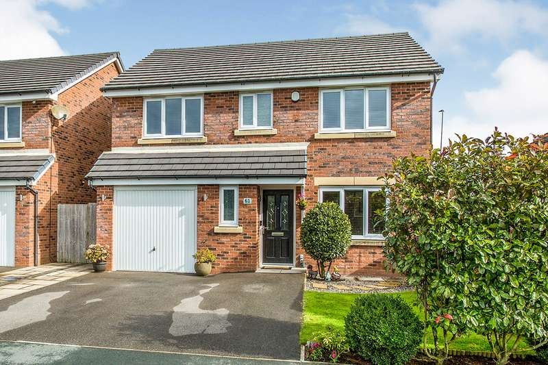 4 Bedrooms Detached House for sale in Meadow Brook, Wigan, Greater Manchester, WN5