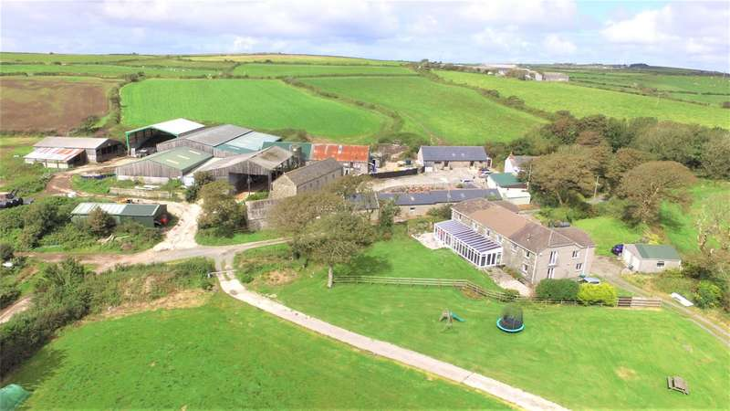 7 Bedrooms Farm Commercial for sale in Black Rock, Camborne, Cornwall, TR14