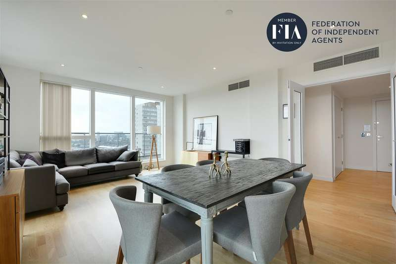 3 Bedrooms Apartment Flat for rent in Hyperion Tower, Pump House Crescent, Brentford